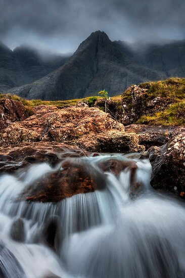 The Faerie Pools, Isle of Skye, Scotland. by photosecosse /barbara jones