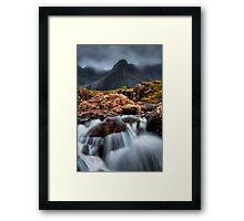 The Faerie Pools, Isle of Skye, Scotland. Framed Print