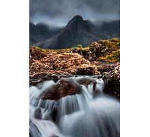 The Faerie Pools, Isle of Skye, Scotland. Photographic Print
