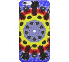 Abstract kaleidoscope pattern iPhone Case/Skin