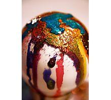 Glitter Bulb Photographic Print