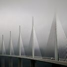 The Millau Viaduct in France by Richard McCaig