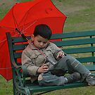 RELAXING AFTER A DAY LONG SHOOT IN THE PARK by RakeshSyal