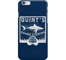 Quints Shark Fishing iPhone Case/Skin