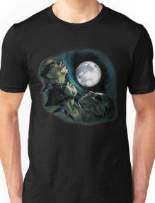 Three Wolverine Moon Unisex T-Shirt