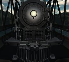 The Old Iron Bridge by Ostar-Digital