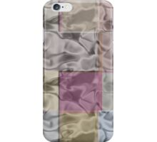 Abstract Cubes in Calm Pastel Colors iPhone Case/Skin