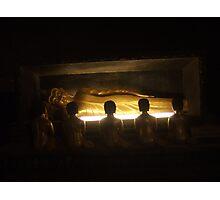 Budda Worship Photographic Print