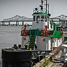 St John Tugboat New Orleans LA USA by GJKImages