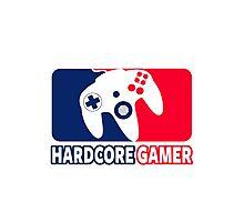 Hardcore Gamer Photographic Print