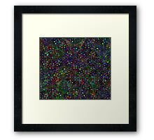 color lines Framed Print