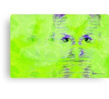 Reptile Girl Canvas Print