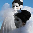 Pierrot Pair by KaliBlack