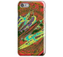 Hot Chilies circled by colours iPhone Case/Skin