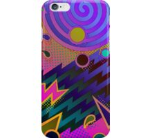 Retro Mania 80's Abstract iPhone Case/Skin