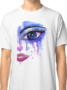 Painted Stylized Face Classic T-Shirt
