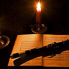 Bach by Candlelight by Mike Oxley