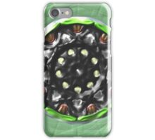Trendy circle pattern iPhone Case/Skin