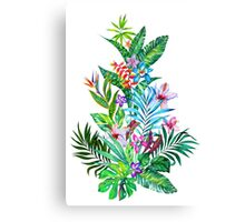 Tropical Fest Canvas Print