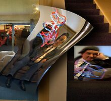 The stairs Collage. by Michael Ricketts