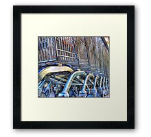 trolleys Framed Print