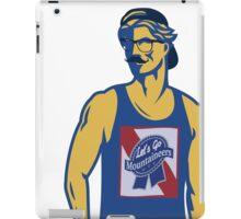 Hipster Mountaineer iPad Case/Skin
