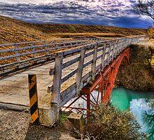 Old Iron Bridge by Tony Burton
