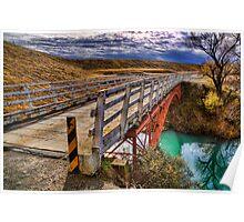 Old Iron Bridge Poster