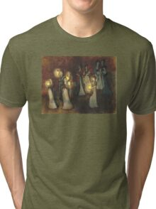 Waiting for the Bridegroom Tri-blend T-Shirt