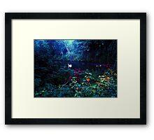 heavenly light leak, kelsey park, beckenham, u.k. Framed Print
