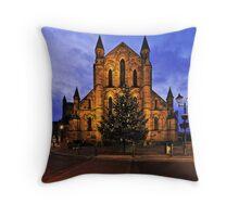 Christmas, Hexham Abbey, Northumberland, England Throw Pillow