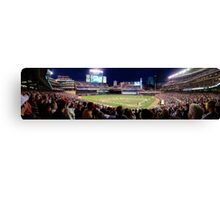 Twins Stadium panorama Canvas Print