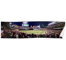 Twins Stadium panorama Poster