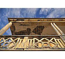 Balcony decay Photographic Print