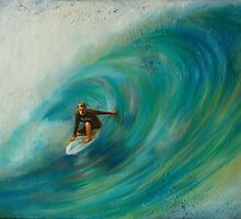 surfing the wave by promethea