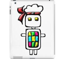 Ninja-bot Mascot  iPad Case/Skin