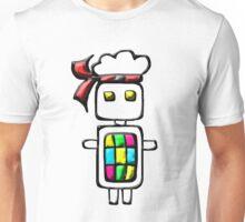 Ninja-bot Mascot  Unisex T-Shirt