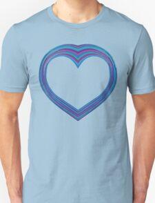 Big Blue Heart T-Shirt