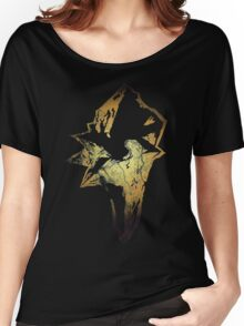 Final Fantasy IX logo grunge Women's Relaxed Fit T-Shirt