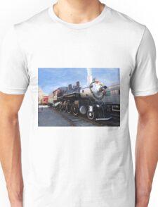 Steam Train at Xmas Unisex T-Shirt