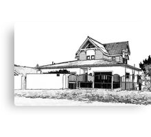 The Parker Home Canvas Print