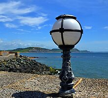 View from lamp - Lyme.Dorset UK by lynn carter