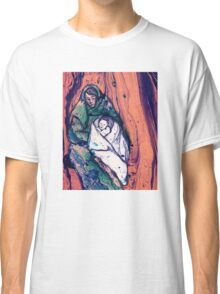 Marbled Madonna and Child Classic T-Shirt