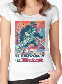 El Mundo Bajo El Terror Women's Fitted Scoop T-Shirt