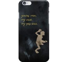 The Lord of the Rings inspired valentine (1/3). iPhone Case/Skin