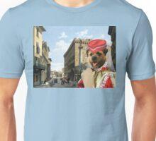Border Terrier Art - Piazza Santa Trinita Firenze Unisex T-Shirt