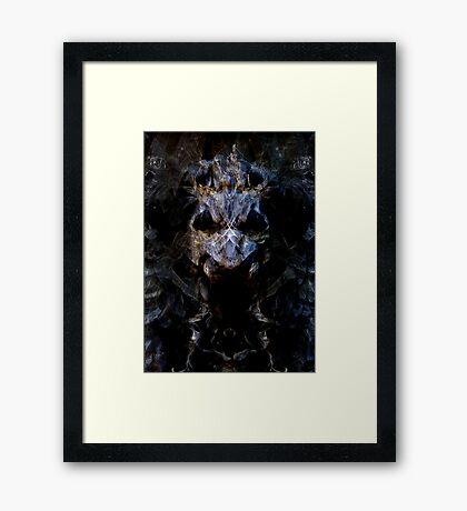 Bone Beast Framed Print