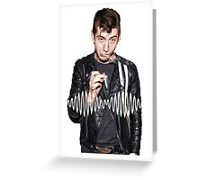 Alex Turner - Tribute To Arctic Monkeys  Greeting Card
