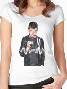 Alex Turner - Tribute To Arctic Monkeys  Women's Fitted Scoop T-Shirt