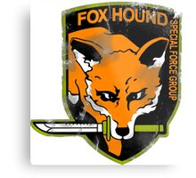 Fox Hound Special Force Group Metal Print